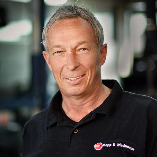 Peter Wiedemann, Autwerkstatt Rapp & Wiedemann, KFZ Werkstatt in Ulm/Wiblingen